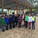 Die KJRFV-Kinder freuen sich auf das neue Zuhause für die Shettys.