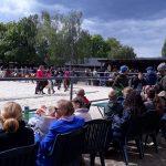 Kleine und große Pferdefreunde kamen zum Tag der offenen Tür beim KJRFV Zehlendorf e.V.